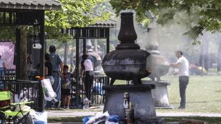 Ankara'da vatandaşlar piknik alanlarını doldurdu