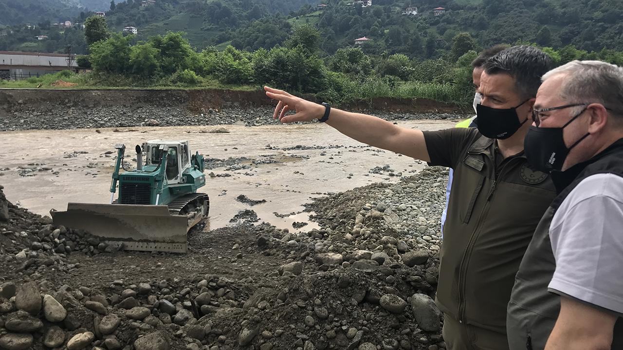 Selin vurduğu Arhavi'nin yüzde 70'ine su verildi