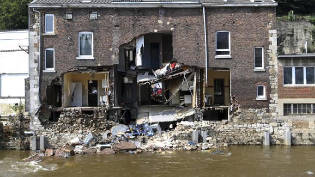 Belçikadaki sellerde can kaybı artıyor