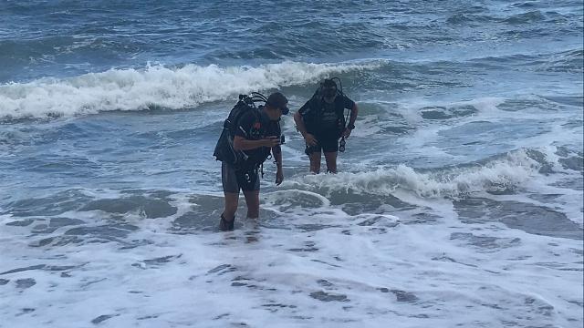 Bartında dalgalara kapılan çocuk hayatını kaybetti
