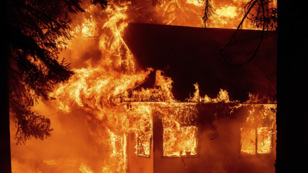 California'da orman yangınları devam ediyor