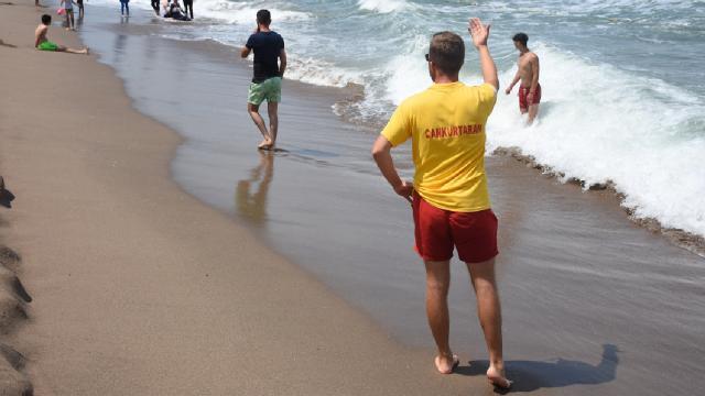 Bartın ve Düzcede denize girişler yasaklandı