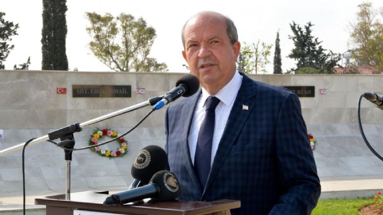 """Ersin Tatar'dan """"Kapalı Maraş"""" açıklaması"""