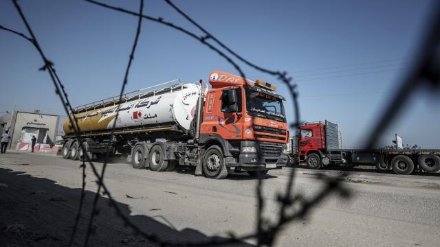 İsrailden, Gazzeye yakıt girişine engel