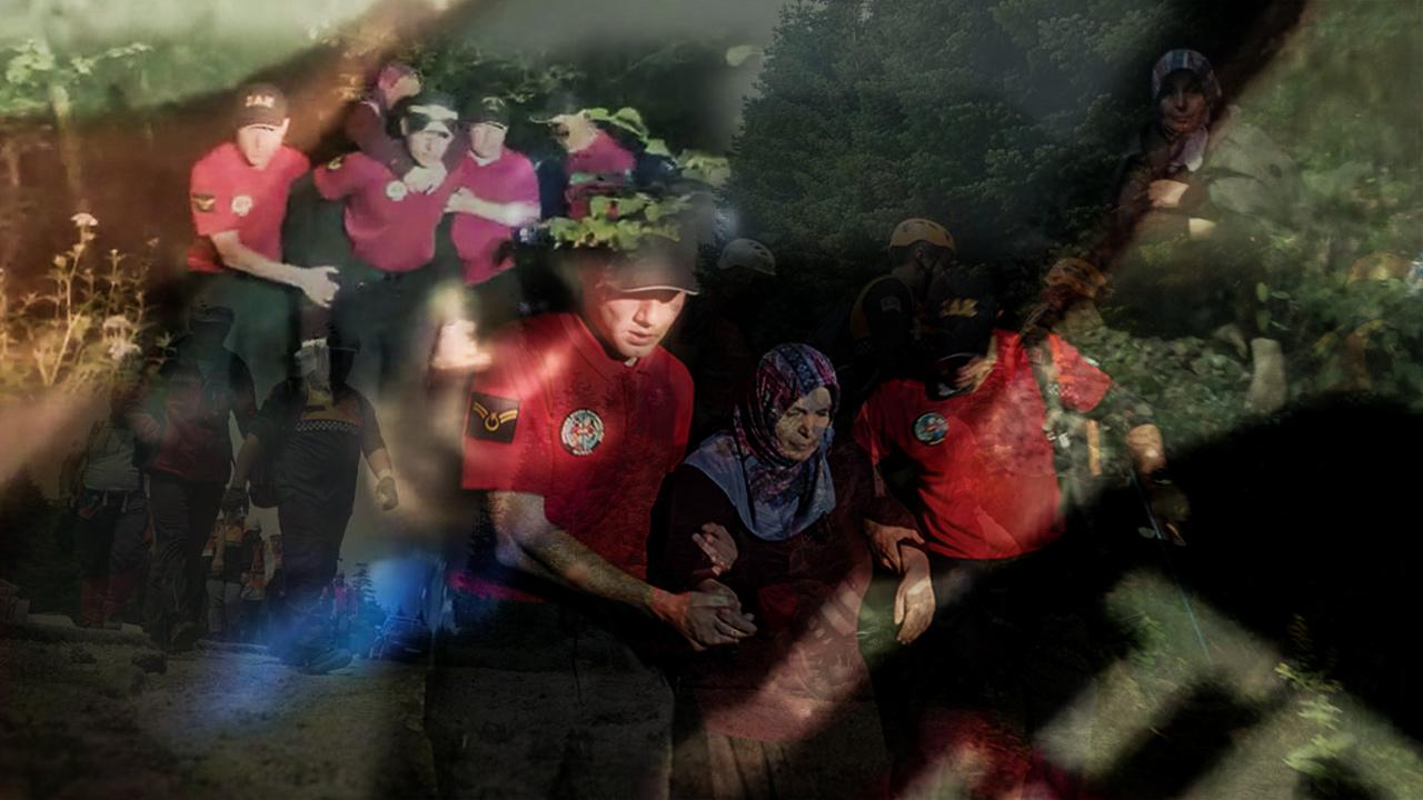 Kaybolan kadın 3 gün sonra sağ bulundu