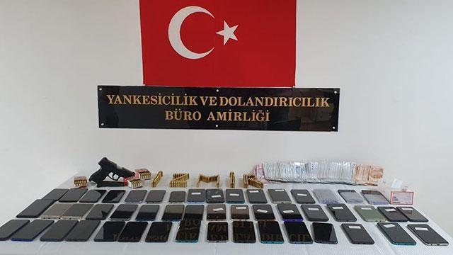 İzmirde hırsızlık çetesi çökertildi: 14 tutuklama