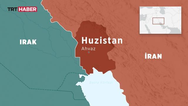 İranın Huzistan eyaletinde elektrik ve internet de kesildi