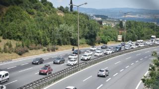 İstanbul'da dönüş yoğunluğu yaşanıyor