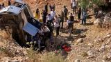 Adıyaman'da minibüs şarampole devrildi: 2 ölü, 5 yaralı