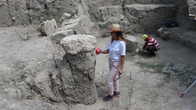 Antik Çağdaki ilk yerleşim yerlerinden Tepebağ Höyüğü turizme kazandırılıyor