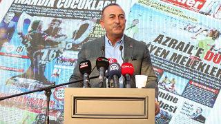 Bakan Çavuşoğlu: KKTC ve Türkiye'nin haklarını savunurken tereddüte düşmeyiz