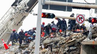 Miami'de çöken binada arama çalışmaları sonlandırıldı