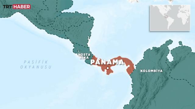 Panamada 6,9 büyüklüğünde deprem