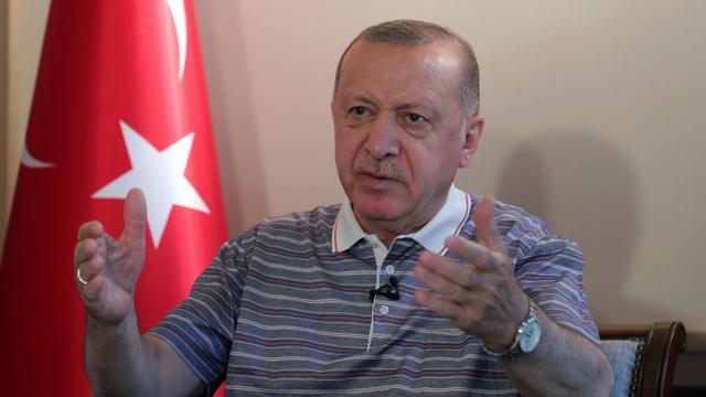 Cumhurbaşkanı Erdoğan: Kıbrıs Türklerinin tek talebi egemen ülke talebinin karşılanması