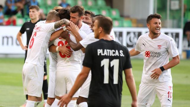 Sivasspor Moldovadan avantajlı döndü