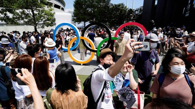 Tokyo Olimpiyatlarına akredite vaka sayısı 133e çıktı