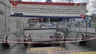 Mecidiyeköy-Mahmutbey metro hattında yangın ve patlama