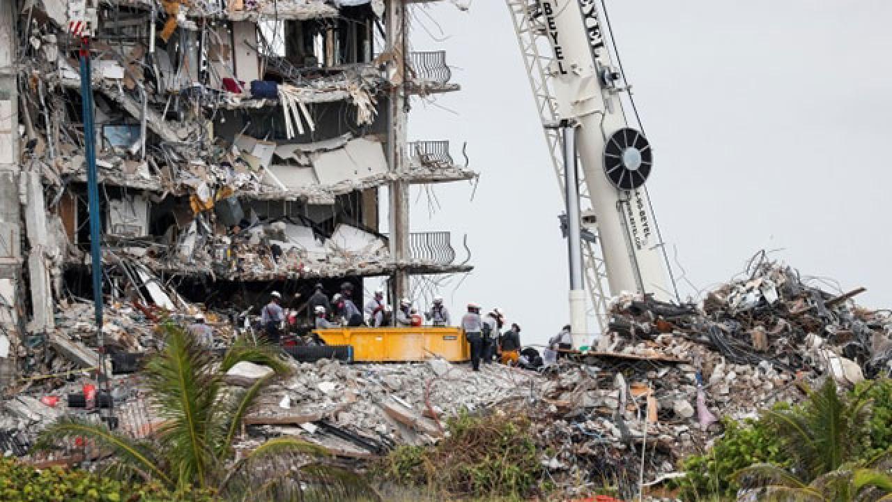 Miami'de çöken binadaki son kayıp kişi bulundu