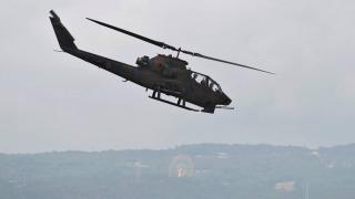 ABD askeri helikopteri pirinç tarlasına acil iniş yaptı
