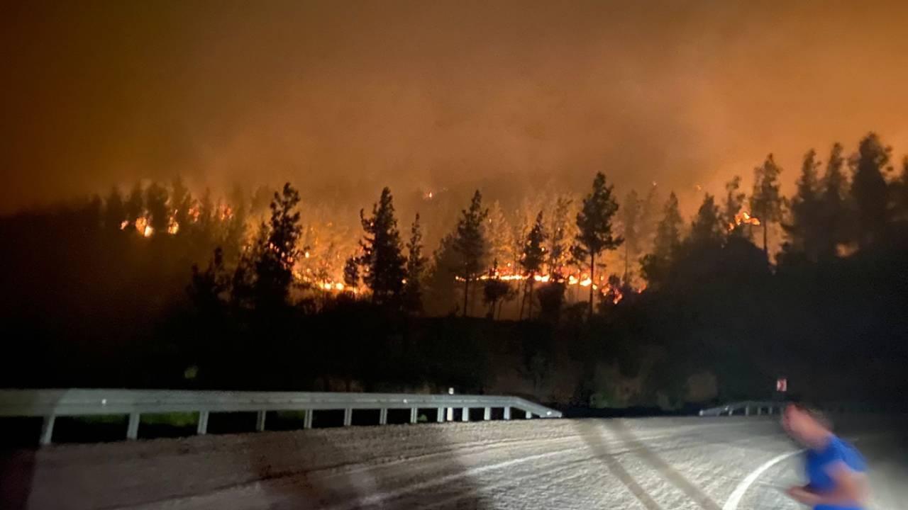 Adana'da orman yangını: 5 köy tahliye edildi