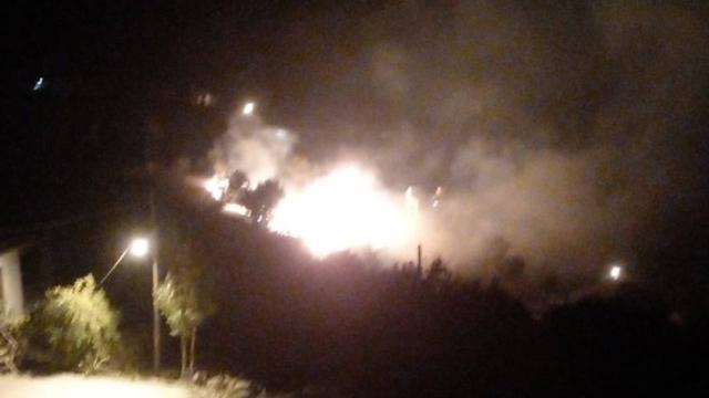 Alanyada zirai alanlarda çıkan yangınlar söndürüldü