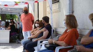 Eskişehir'de randevusuz Covid-19 aşı uygulaması ilgi görüyor