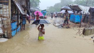 Bangladeş'te sel ve heyelan: 5 Arakanlı Müslüman öldü