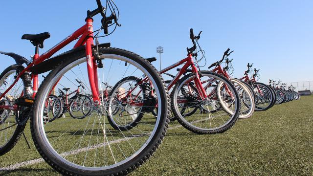 Aşı olanlara çekilişle bisiklet verilecek
