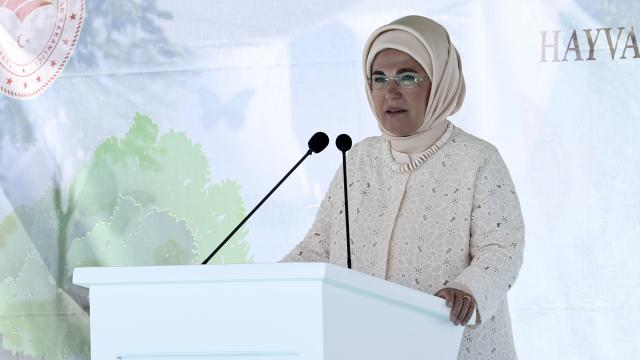 Emine Erdoğandan kadınlara çağrı: Sürdürülebilir dünya inşa edelim