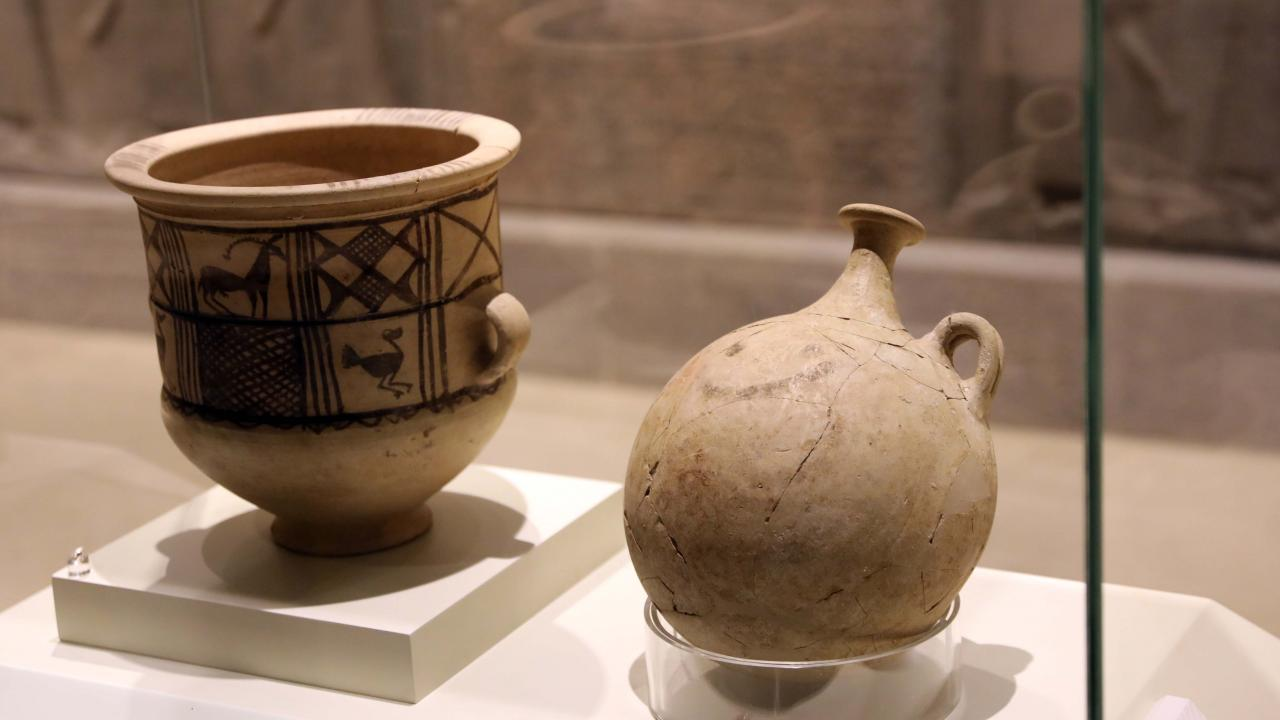 Dünyanın ilk 'gülücük' emojisi: 3700 yıllık mataraya yoğun ilgi