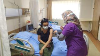 Bakan Koca'dan 1 milyonuncu aşı paylaşımı