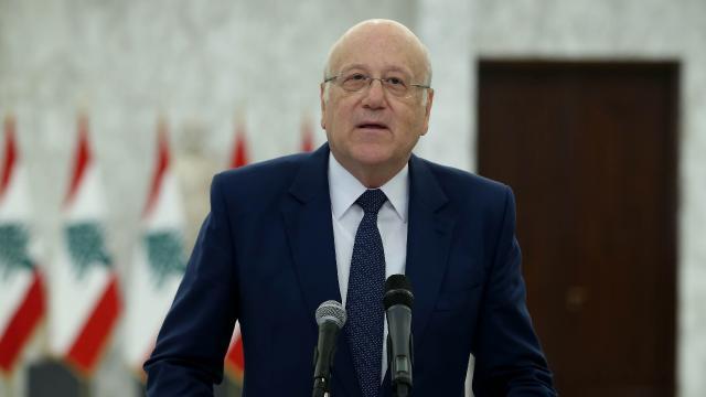 Lübnanda eski Başbakan Mikati: İnşallah yakında bir hükümete kavuşacağız