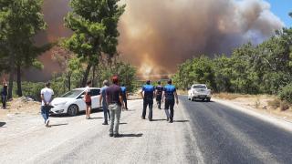 Türk Kızılay Manavgat'taki yangın bölgesine doğru yola çıktı