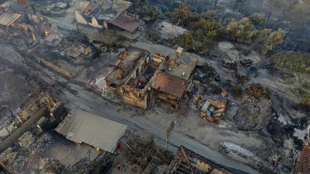 Manavgatta yangın nerede çıktı, can kaybı var mı? Manavgattaki yangın kontrol altına alındı mı?