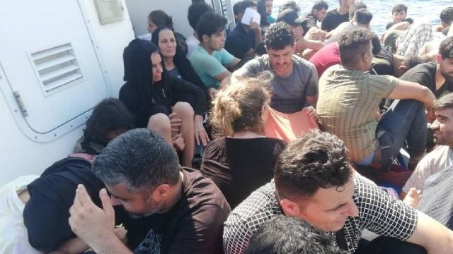 Muğlada 56 düzensiz göçmen yakalandı