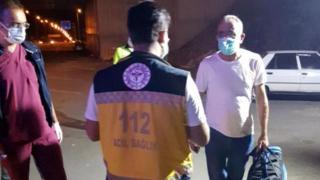 Test sonucu pozitif olan kişi şehirlerarası otobüste yakalandı