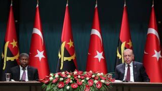 Cumhurbaşkanı Erdoğan: Türkiye terörle mücadelede Angola'nın yanında yer alacaktır