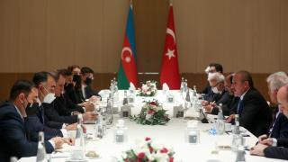 TBMM Başkanı Şentop'un Azerbaycan temasları sürüyor