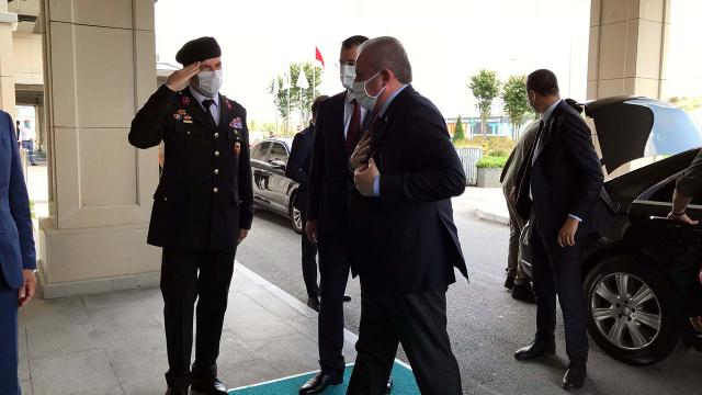 Meclis Başkanı Şentop Azerbaycanda
