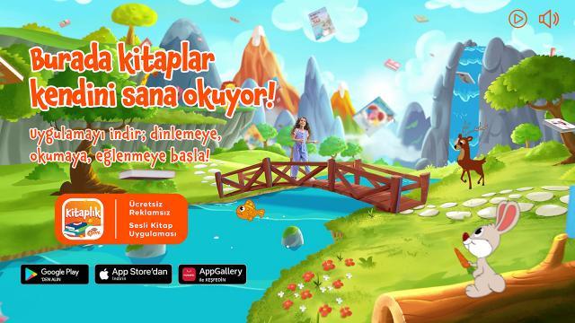 """""""TRT Çocuk Kitaplık"""" uygulamasını 1 milyonu aşkın kişi indirdi"""