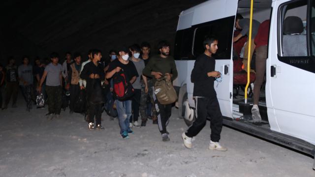 Yurda yasa dışı yollarla giren 86 kişi yakalandı