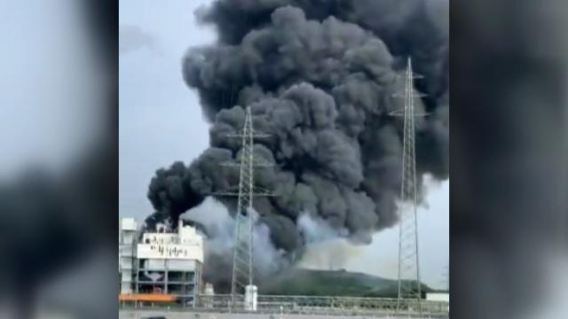 Almanya'da katı atık yakma alanında patlama: 5 ölü