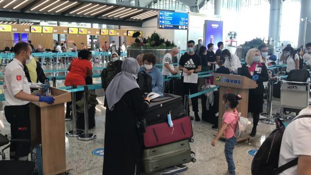 190 Avustralya vatandaşı ülkesine dönüyor