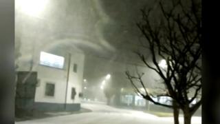 Brezilya karla kaplandı