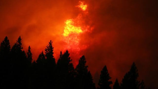 Güney Avrupa ülkelerinde de yangın uyarısı