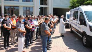 Manavgat'ta şehit olan 2 orman işçisi için tören düzenlendi