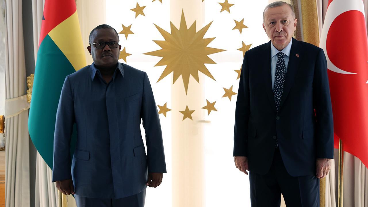 Cumhurbaşkanı Erdoğan, Gine Bissau Cumhurbaşkanı ile görüştü
