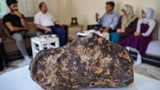 Van'da bulunan göktaşı Uluslararası Meteorit Veri Bülteni'ne işlendi