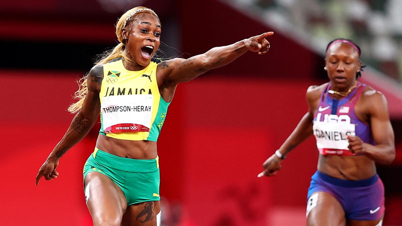 Jamaikalı Elaine Thompson 33 yıllık olimpiyat rekorunu kırdı