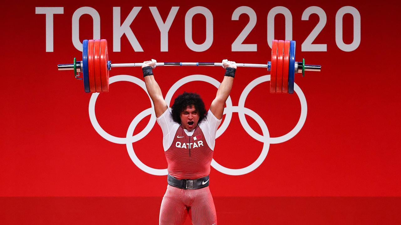 Katarlı halterci ülkesine ilk olimpiyat altın madalyasını kazandırdı